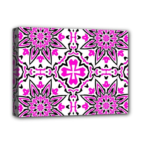 Oriental Pattern Deluxe Canvas 16  X 12   by BangZart
