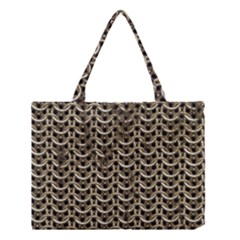 Sparkling Metal Chains 01a Medium Tote Bag by MoreColorsinLife