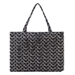 Sparkling Metal Chains 01b Medium Tote Bag by MoreColorsinLife
