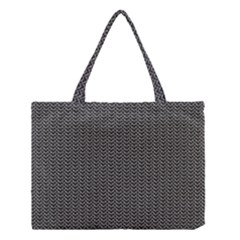 Sparkling Metal Chains 03a Medium Tote Bag by MoreColorsinLife