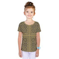 Seamless Pattern Design Texture Kids  One Piece Tee