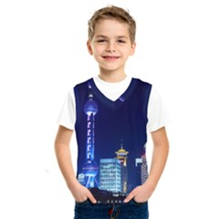 Shanghai Oriental Pearl Tv Tower Kids  Sportswear