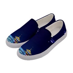 Shanghai Oriental Pearl Tv Tower Women s Canvas Slip Ons by BangZart