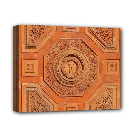 Symbolism Paneling Oriental Ornament Pattern Deluxe Canvas 14  X 11  by BangZart