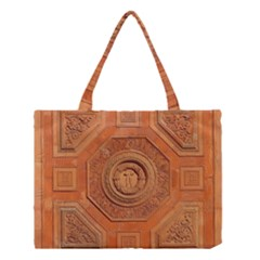 Symbolism Paneling Oriental Ornament Pattern Medium Tote Bag by BangZart