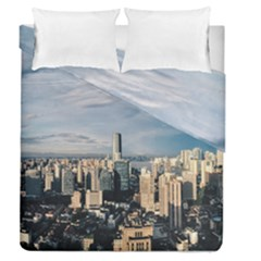 Shanghai The Window Sunny Days City Duvet Cover Double Side (queen Size)