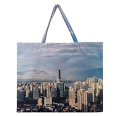 Shanghai The Window Sunny Days City Zipper Large Tote Bag by BangZart