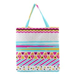 Tribal Grocery Tote Bag by allgirls