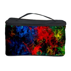 Squiggly Abstract A Cosmetic Storage Case by MoreColorsinLife