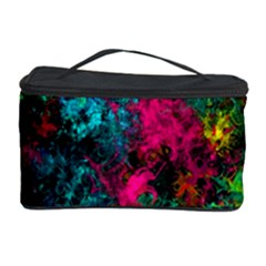 Squiggly Abstract B Cosmetic Storage Case by MoreColorsinLife