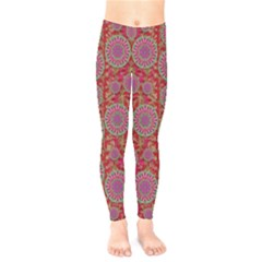 Hearts Can Also Be Flowers Such As Bleeding Hearts Pop Art Kids  Legging