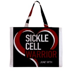 Warrior  Zipper Medium Tote Bag by shawnstestimony