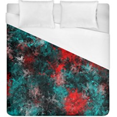 Squiggly Abstract D Duvet Cover (king Size) by MoreColorsinLife
