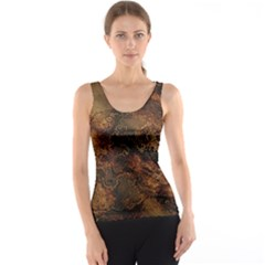 Wonderful Marbled Structure A Tank Top by MoreColorsinLife