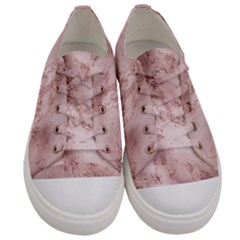 Wonderful Marbled Structure E Men s Low Top Canvas Sneakers