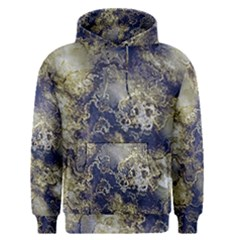 Wonderful Marbled Structure D Men s Pullover Hoodie by MoreColorsinLife