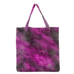 Wonderful Marbled Structure C Grocery Tote Bag