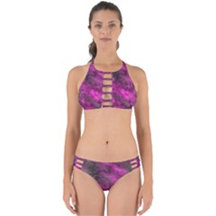Wonderful Marbled Structure C Perfectly Cut Out Bikini Set
