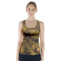Wonderful Marbled Structure B Racer Back Sports Top