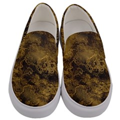 Wonderful Marbled Structure B Men s Canvas Slip Ons