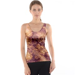Wonderful Marbled Structure I Tank Top by MoreColorsinLife