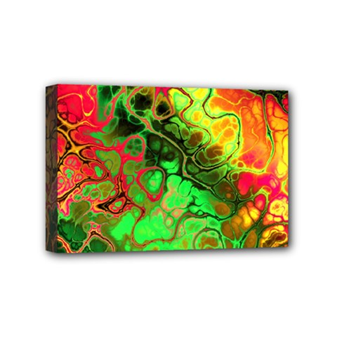 Awesome Fractal 35i Mini Canvas 6  X 4  by MoreColorsinLife