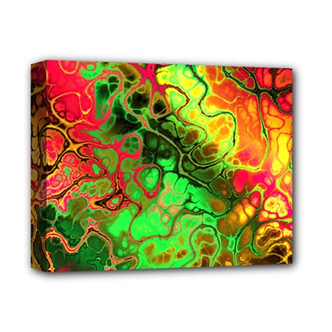 Awesome Fractal 35i Deluxe Canvas 14  X 11  by MoreColorsinLife