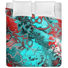 Awesome Fractal 35g Duvet Cover Double Side (california King Size) by MoreColorsinLife