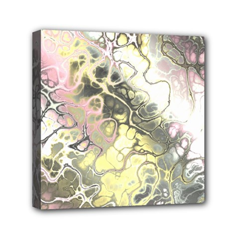 Awesome Fractal 35h Mini Canvas 6  X 6  by MoreColorsinLife