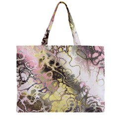 Awesome Fractal 35h Zipper Mini Tote Bag by MoreColorsinLife