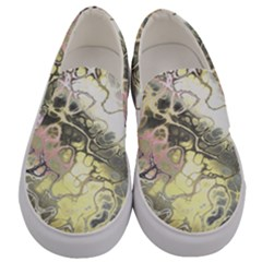 Awesome Fractal 35h Men s Canvas Slip Ons