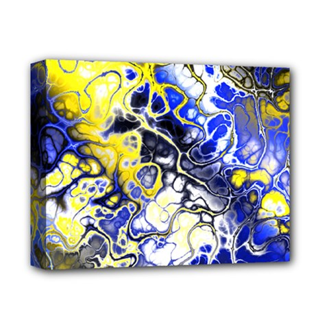Awesome Fractal 35a Deluxe Canvas 14  X 11  by MoreColorsinLife