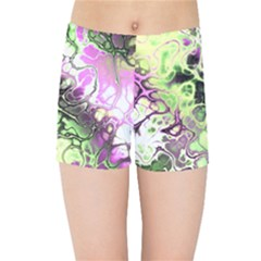 Awesome Fractal 35d Kids Sports Shorts