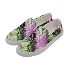 Awesome Fractal 35d Women s Canvas Slip Ons by MoreColorsinLife