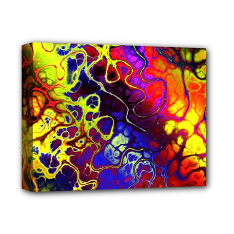 Awesome Fractal 35c Deluxe Canvas 14  X 11  by MoreColorsinLife