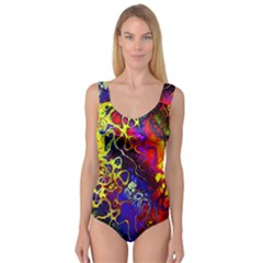 Awesome Fractal 35c Princess Tank Leotard