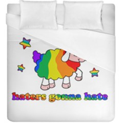 Unicorn Sheep Duvet Cover (king Size) by Valentinaart