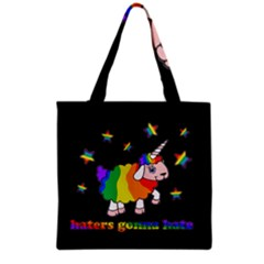 Unicorn Sheep Grocery Tote Bag by Valentinaart