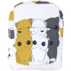 Cute Cats Full Print Backpack by Valentinaart