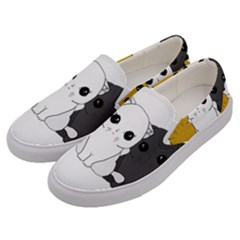 Cute Cats Men s Canvas Slip Ons by Valentinaart