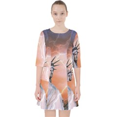 Statue Of Liberty New York Pocket Dress