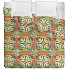 Eye Catching Pattern Duvet Cover Double Side (king Size) by linceazul