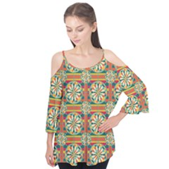 Eye Catching Pattern Flutter Tees by linceazul