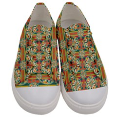 Eye Catching Pattern Men s Low Top Canvas Sneakers