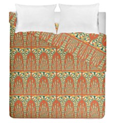 Arcs Pattern Duvet Cover Double Side (queen Size) by linceazul