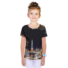 Church Decoration Night Kids  One Piece Tee