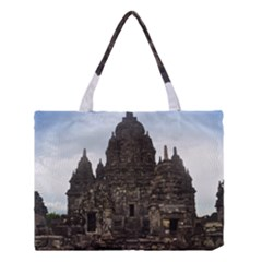 Prambanan Temple Indonesia Jogjakarta Medium Tote Bag by Nexatart