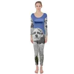 Mount Rushmore Monument Landmark Long Sleeve Catsuit