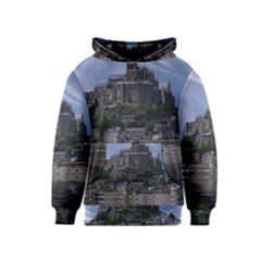 Mont Saint Michel France Normandy Kids  Pullover Hoodie