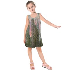Flat Iron Building Toronto Ontario Kids  Sleeveless Dress